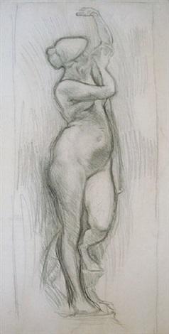 estudio de desnudo [nude study] by joaquín torres garcía